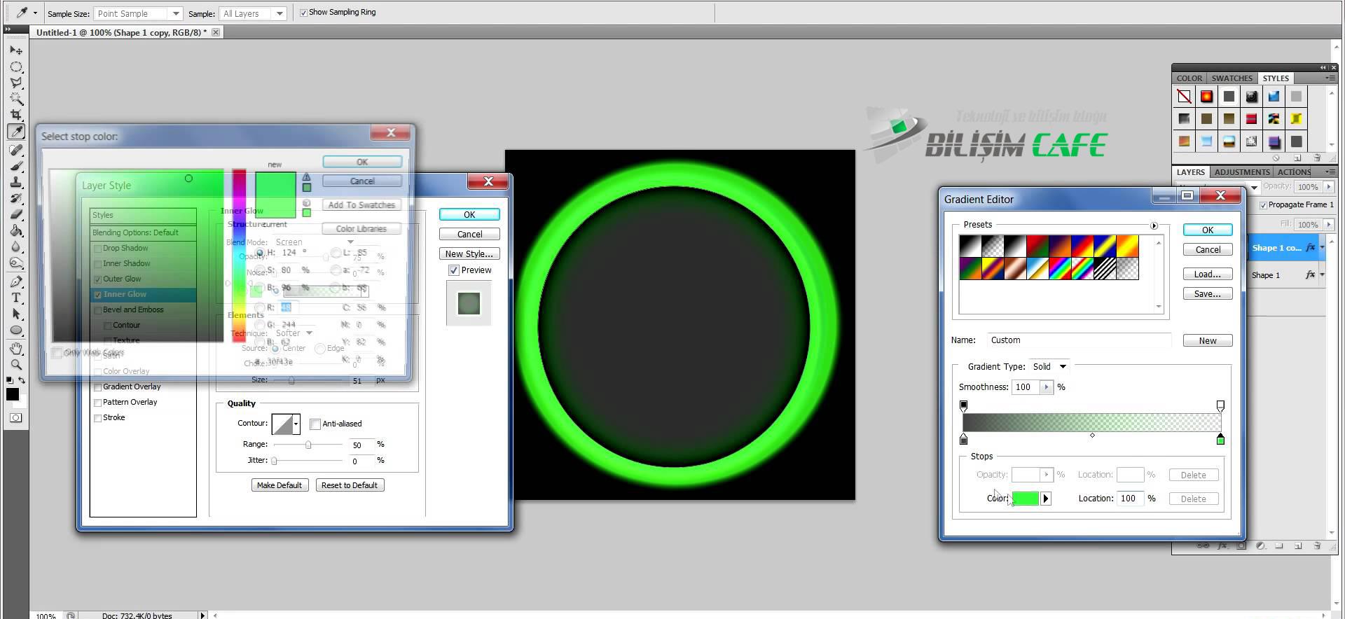 Photoshop Logo Tasarımı