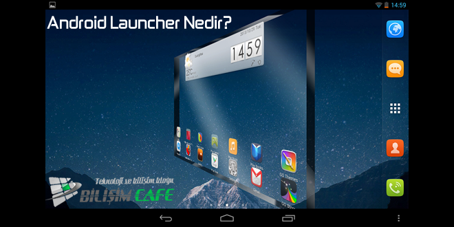 android-launcher-nedir