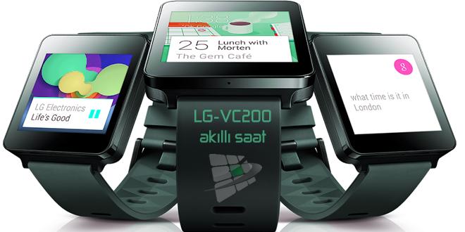 LG-VC200 akıllı saat modeli