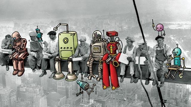 Robot İşçilerin Kullanım Oranı Artıyor