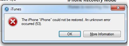 Apple Error 53