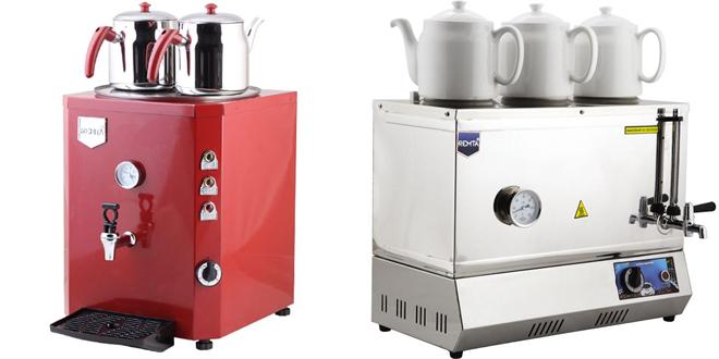 Çay kazanı, çay makinesi, elektrikli semaver