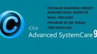 Advanced SystemCare Pro İle Bilgisayarlarınız Güvende