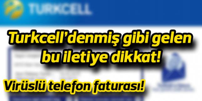 Cryptolocker Turkcell İle Saldırıyor!