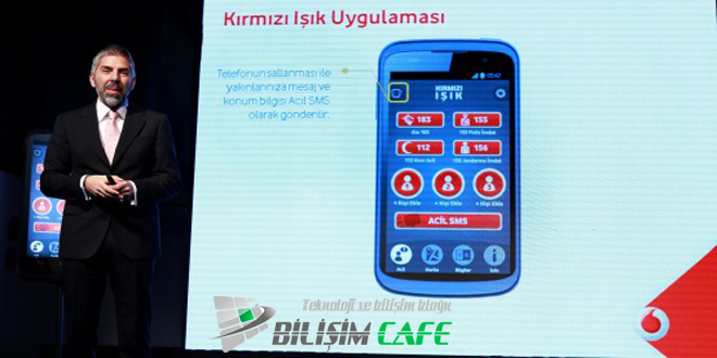 Vodafone Kırmızı Işık Uygulaması