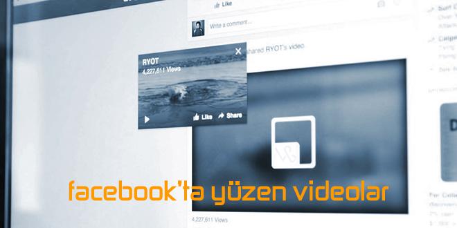 Facebook'ta Yüzen Videolara Merhaba