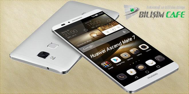 Huawei, Ascend Mate 7 ile Uçuracak