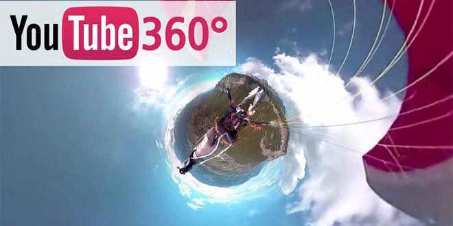 360 derecelik Youtube videoları