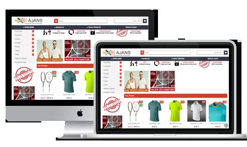 E-Ticaret sitesi ve web tasarım